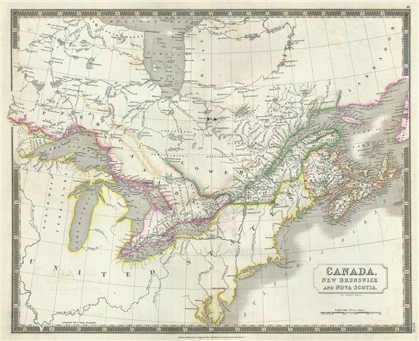 Canada, New Brunswick and Nova Scotia. - Main View