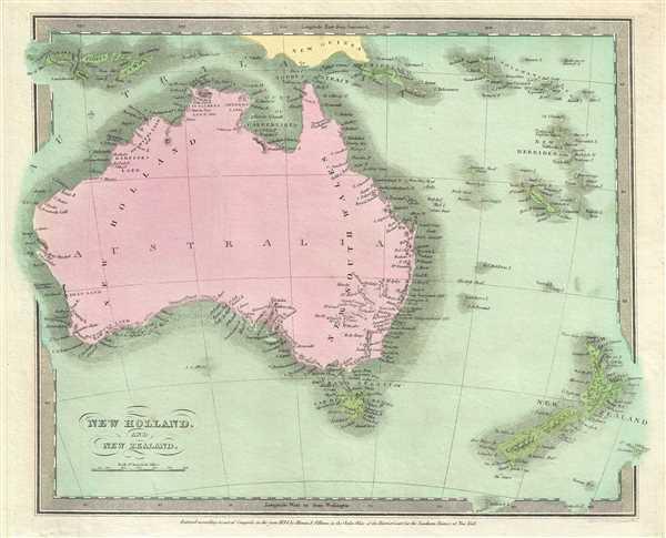 New Holland, and New Zealand.: Geographicus Rare Antique Maps on japan map, james cook australia map, hong kong map, international map, australian capital territory australia map, wellington australia map, country australia map, fiji australia map, indonesia australia map, asia australia map, commonwealth of australia map, sydney australia map, yarra river australia map, melanesia australia map, world map, launceston tasmania australia map, canberra australia map, dunedin australia map, papua new guinea map, lake eyre basin australia map,