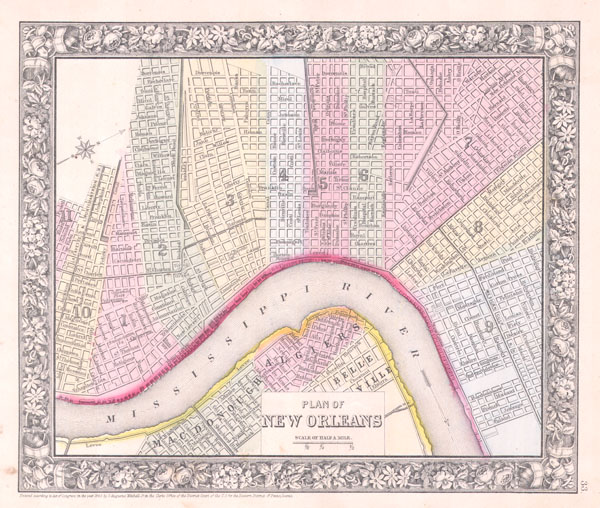 Plan of New Orleans. - Main View