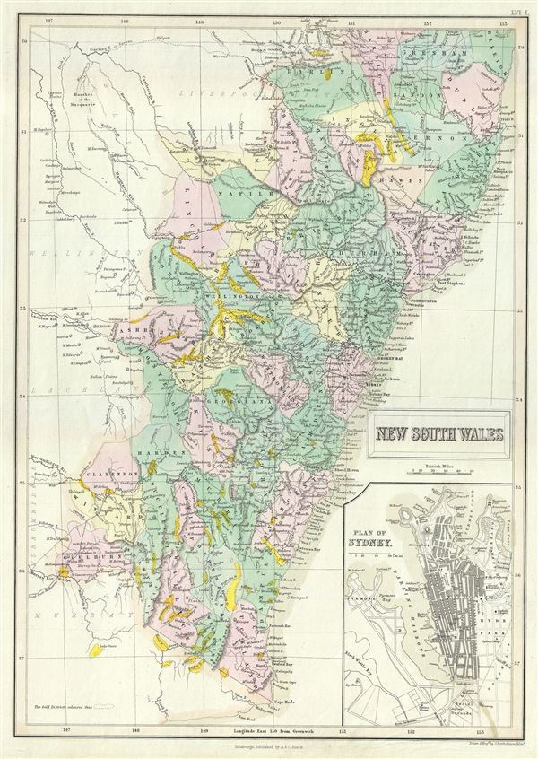 New South Wales. - Main View