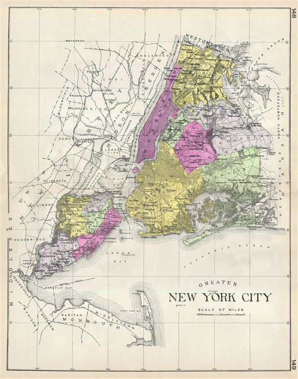 Greater New York City. - Main View