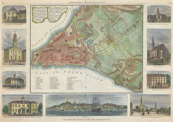 A Plan of the City of New York and Its Environs... - Main View