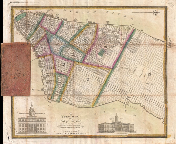 A New Map of the City of New York Comprising all the Late Improvements. - Main View
