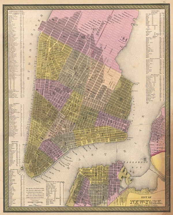 City Of New York Geographicus Rare Antique Maps