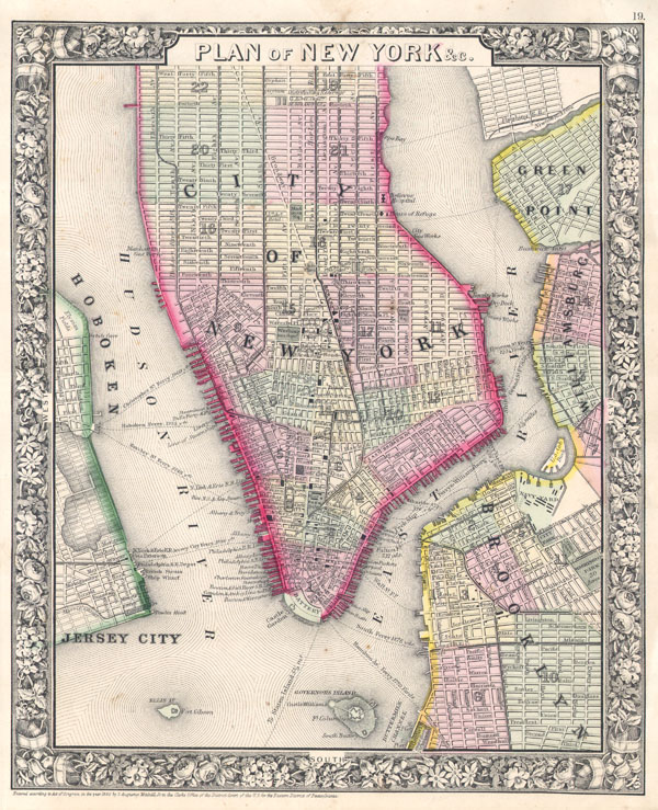 Plan of New York & c.