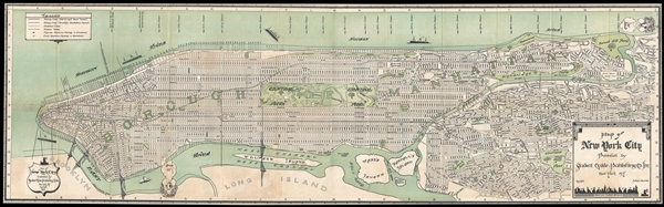 Map of New York City Published by Student Guide Publishing Co. Inc. New York, N.Y.