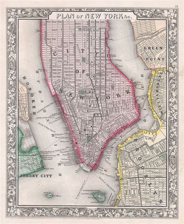 Plan of New York etc.