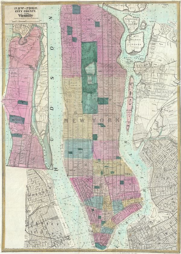 New - York City County, and Vicinity. - Main View