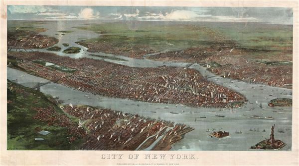 City of New York. - Main View