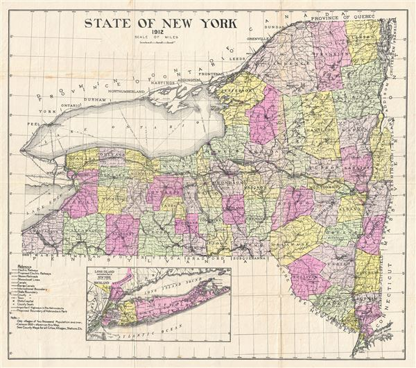 State of New York. - Main View