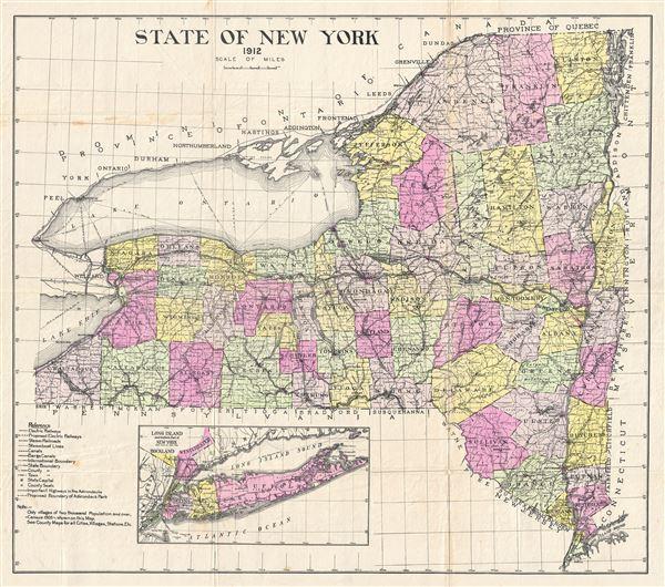 State of New York. - Main View