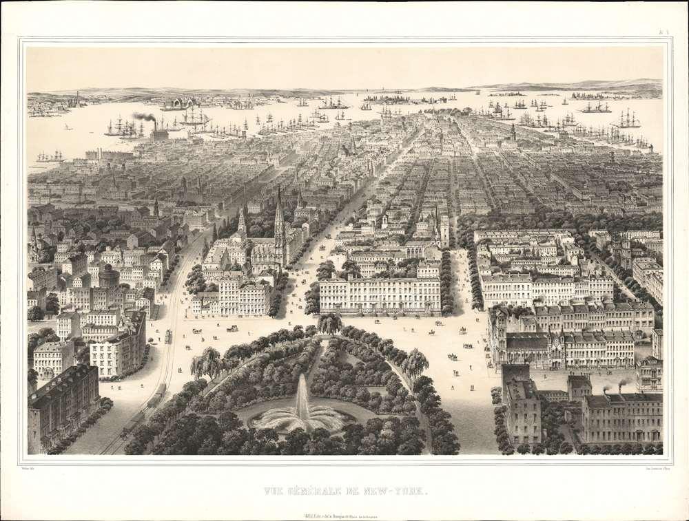 Vue Générale de New-York. - Main View