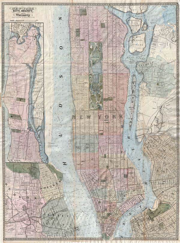 New York City, County, and Vicinity.