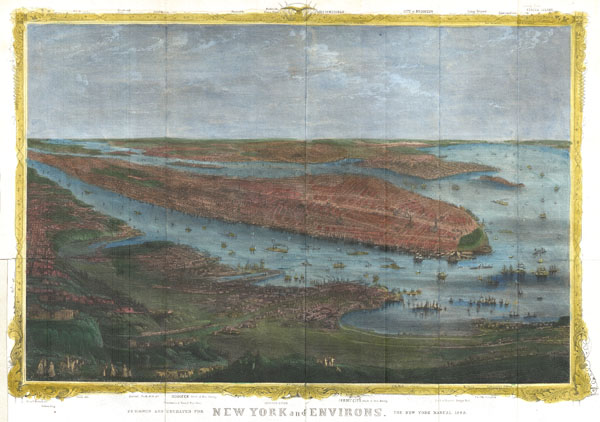 New York and Environs. - Main View
