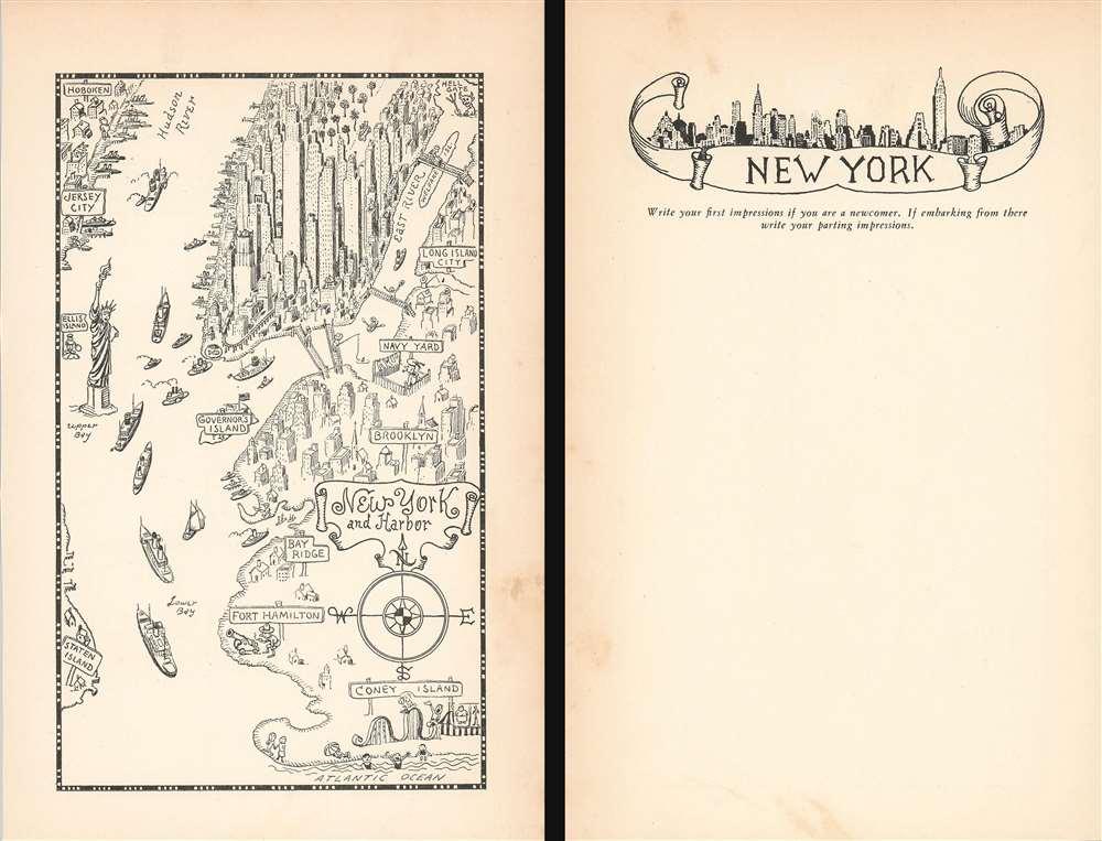 New York and Harbor. - Main View