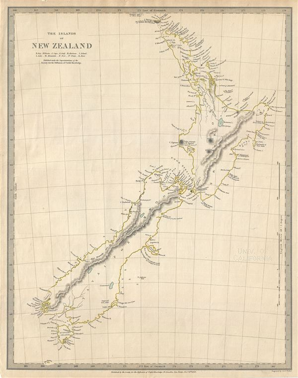 The Island of New Zealand. - Main View