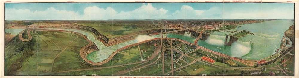 The Niagara Belt Line - Around and Through the Niagara Gorge.