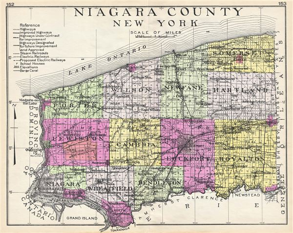 Niagara County New York.