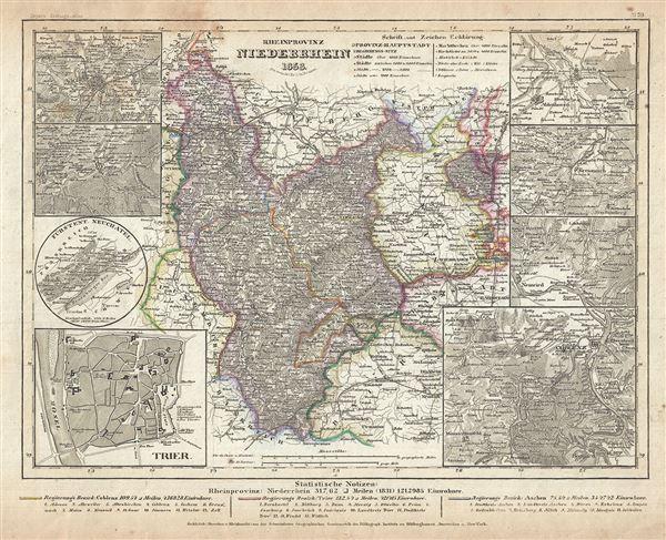 Rheinprovinz Niederrhein.