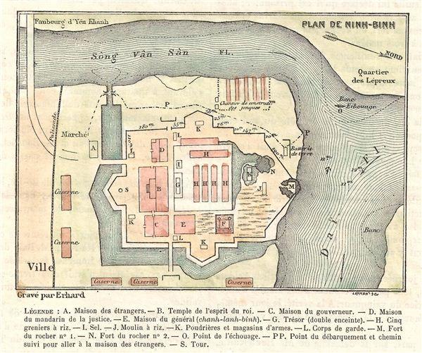 Plan de Ninh-Binh.