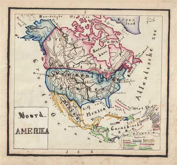Noord Amerika. - Main View