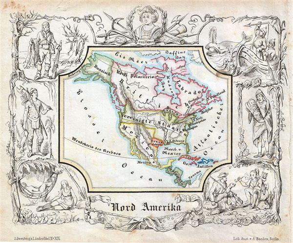 Nord Amerika.