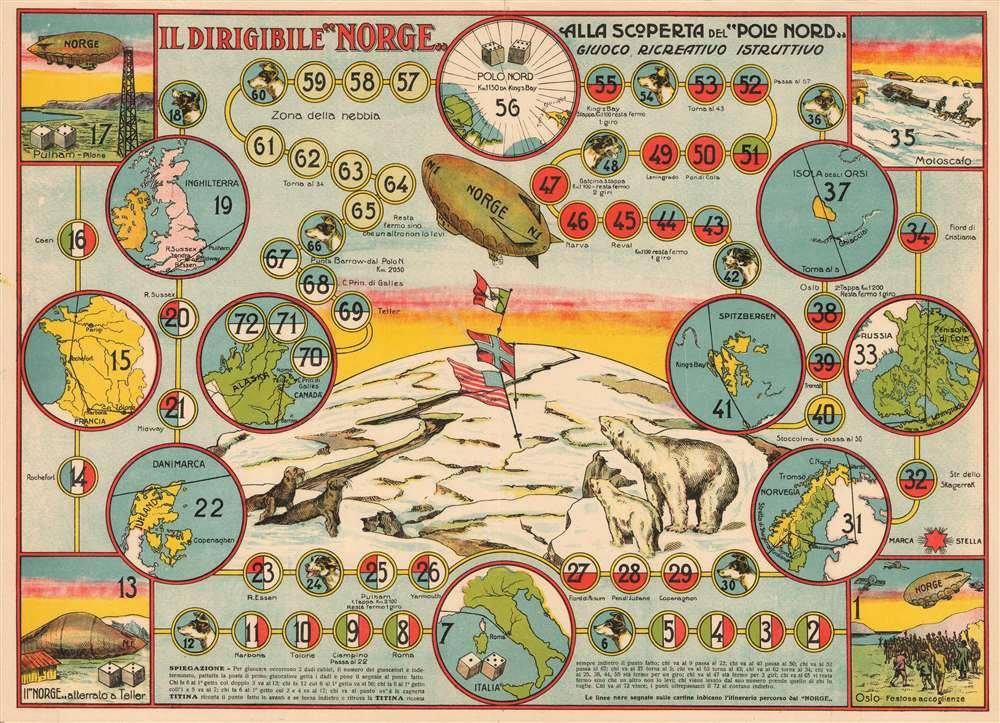 Il Dirigible 'Norge' alla Scoperta del 'Polo Nord.' - Main View