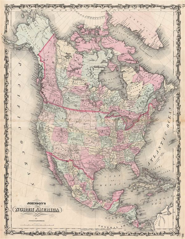 Johnson's North America. - Main View
