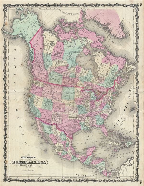 Johnson's North America. - Main View