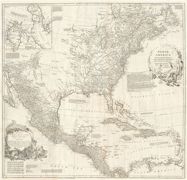North America.: Geographicus Rare Antique Maps