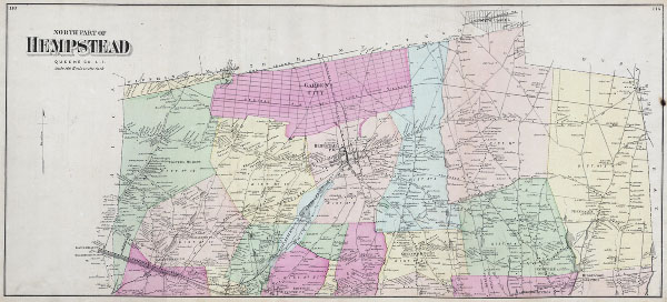 North Part of Hempstead Queens Co. L. I.