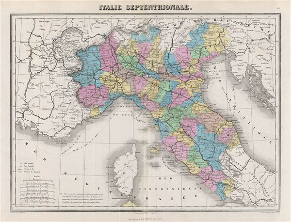 Italie Septentrionale. - Main View