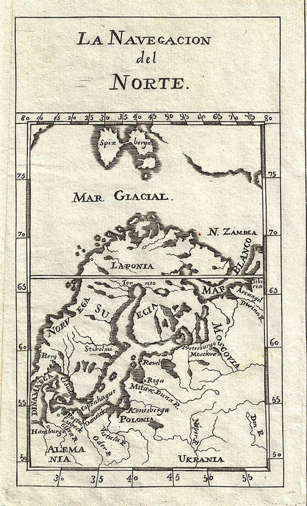 La Navigacion del Norte.