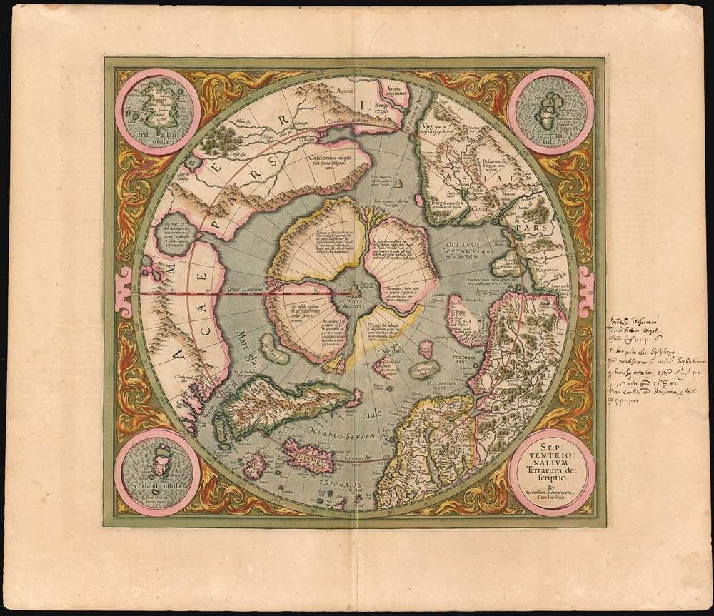 Septentrionalium Terrarum descriptio.