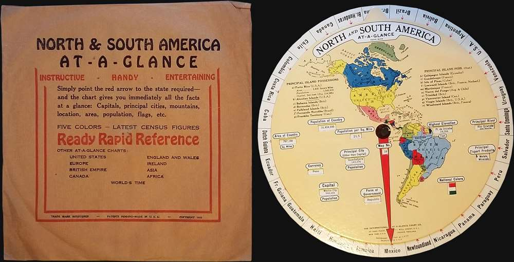 North and South America At-A-Glance. - Main View