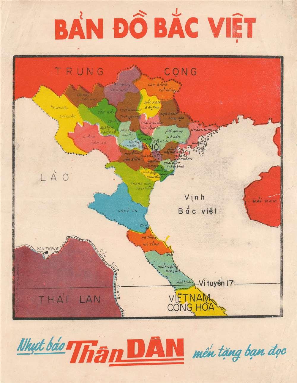 Bản Đồ Bắc Việt. - Main View
