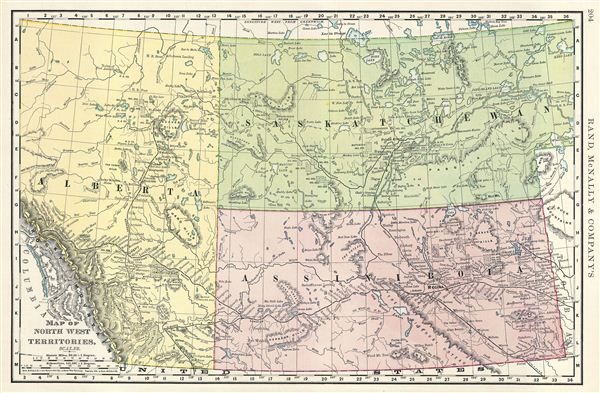 Map of north west territories geographicus rare antique maps map of north west territories gumiabroncs Gallery