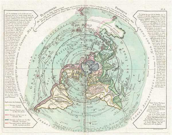 Planisphere Physique. - Main View