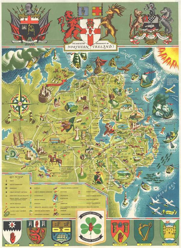 Northern Ireland Map Folder.