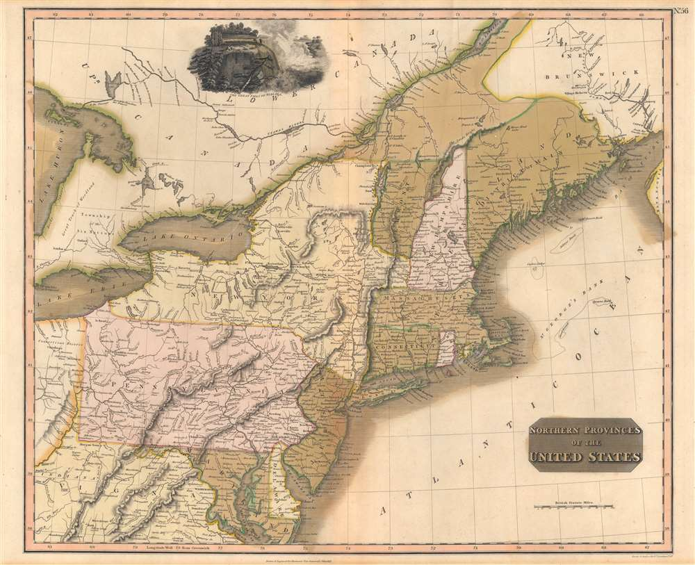 Northern Provinces of the United States. - Main View