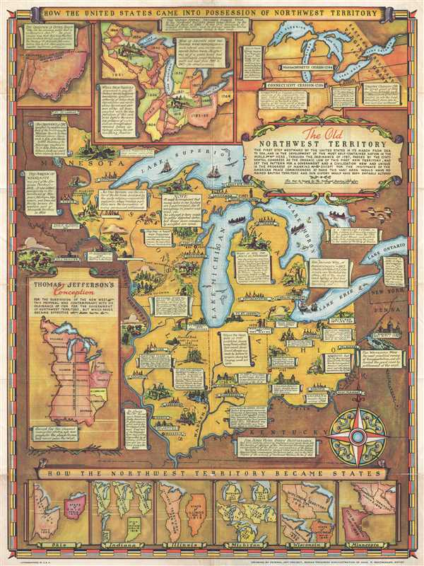 The Old Northwest Territory. - Main View