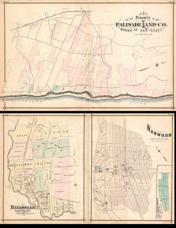Norwood, Hillsdale, Palisade Land Co. - Main View
