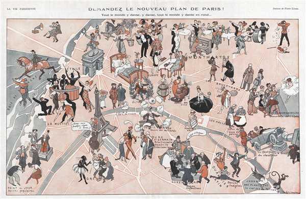 Demandez le Nouveau Plan de Paris!