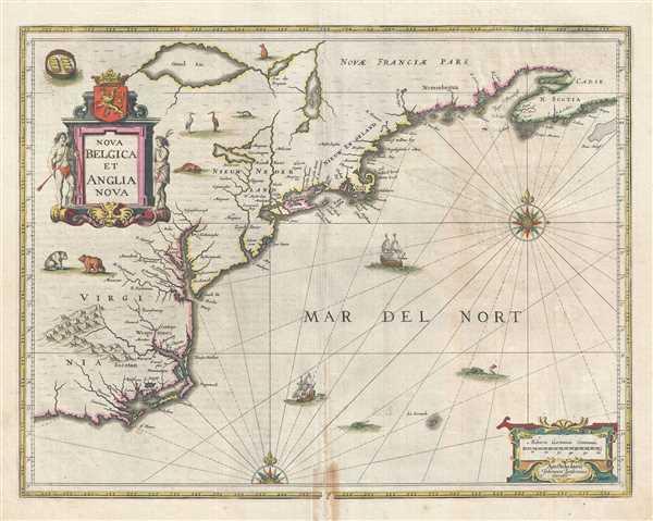 Nova Belgica et Anglia Nova.
