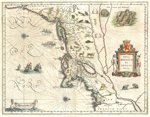 Nova Belgica et Anglia Nova. - Main View
