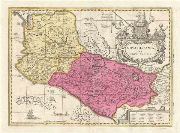 Nova Hispania et Nova Galicia. - Main View