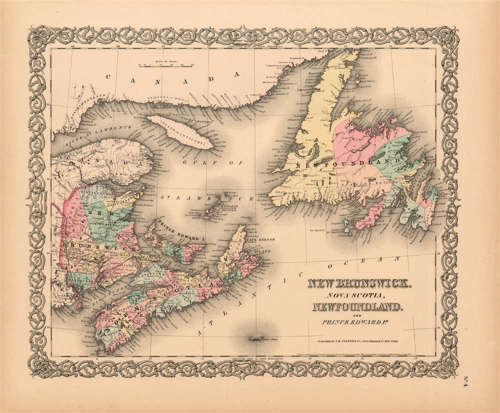 New Brunswick, Nova Scotia, Newfoundland, and Price Edward Id.
