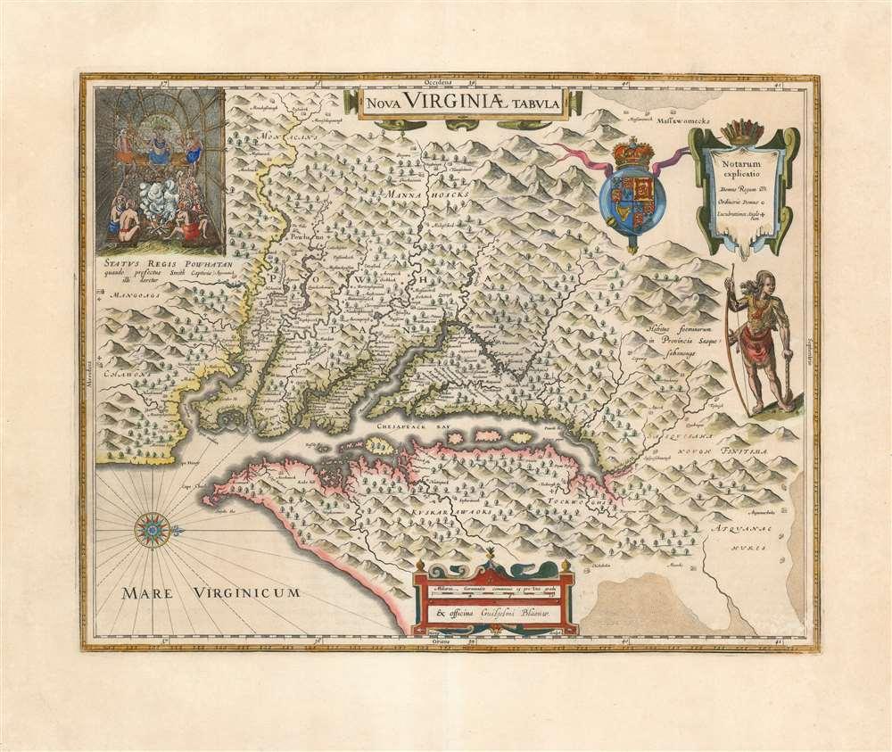 Nova Virginiae Tabula. - Main View