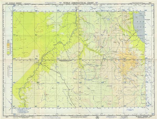 nubian desert sudanegypt geographicus rare antique maps