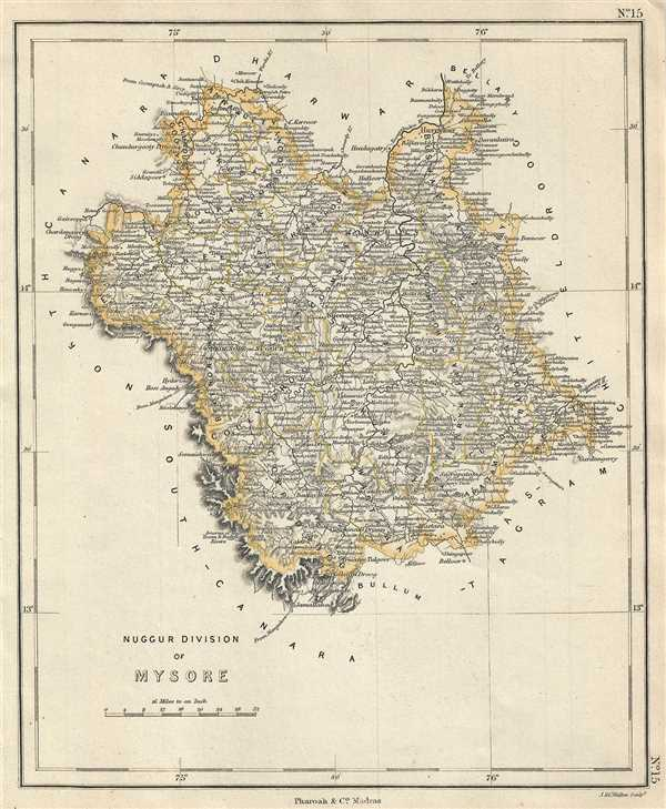 Nuggur Division of Mysore.